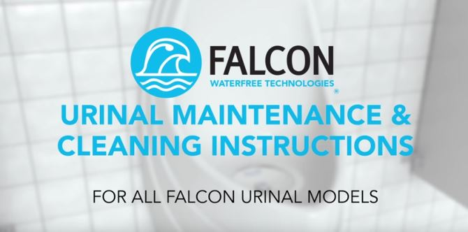 VIDEO: Maintenance of Falcon Waterless Urinals